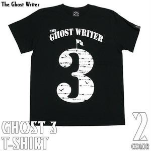 2週間限定セール☆ tgw015tee - GHOST 3 Tシャツ (ブラック) - The Ghost Writer -G-( パンク ロックTシャツ ロゴTシャツ 有刺鉄線 )