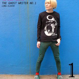 2weekセール!! tgw001lt - The Ghost Writer No.1 ロングスリーブTシャツ -G- パンク ロック ロンT パンキッシュ 長袖