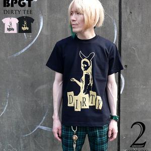 sp042tee - DIRTY(ダーティー)Tシャツ - BPGT -G-( PUNK ROCK ロックTシャツ パンクファッション 半袖 )