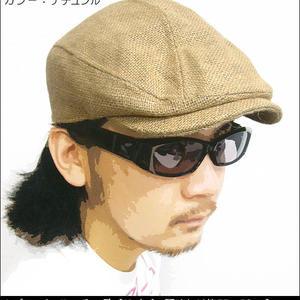 squ5607 - ジュート ハンチング - HATENA - ハテナ -G-ヘンプ 麻素材 帽子 ぼうし カジュアル