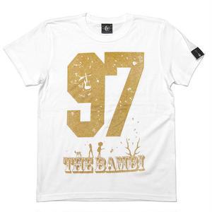 sp055tee-wh - bambi97 Tシャツ (ホワイト)-G- 白色 半袖 ロゴTee ロックTシャツ 春夏秋服コーデ 綿100%