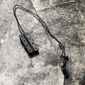H STEEL NECKLACE