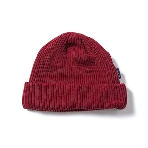 SON OF THE CHEESE | C100 KNIT CAP(WINE)