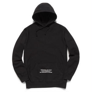 NOTHIN SPECIAL / HOLO LOOP PULLOVER (BLACK)
