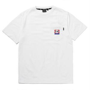 430 | CIGER LOGO S/S POCKET TEE(WHITE)
