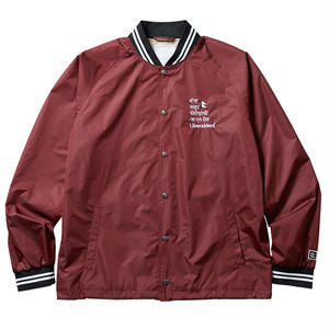 Liberaiders / DEVI STADIUM JACKET (BURGUNDY)
