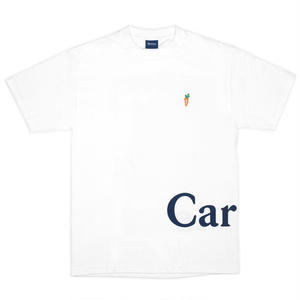 CARROTS | LOGO WORDMARK T-SHIRT(WHITE)