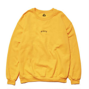 HOLE AND HOLLAND | DISCO CREW NECK(GOLD)