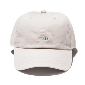 坩堝 |  RUTSUBO×ALLRAID  HANGOVER CURVE VISOR CAP (BEIGE)