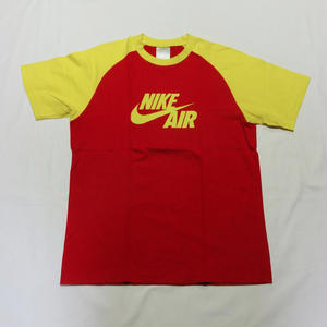 USED (古着)NIKE AIR Tシャツ(レッド/イエロー)
