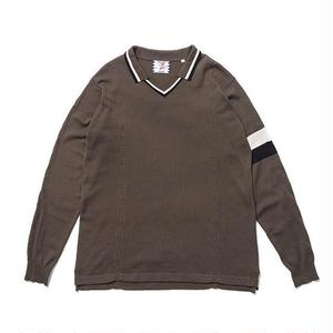 SON OF THE CHEESE | FC-C100 knit (OLIVE)