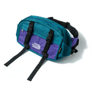Tightbooth / CYBORG WAIST BAG(Green×Purple)