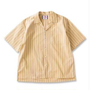 SON OF THE CHEESE | Stripe stripe shrits(YELLOW)