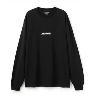 XLARGE® | L/S TEE EMBROIDERY STANDARD LOGO(ブラック)