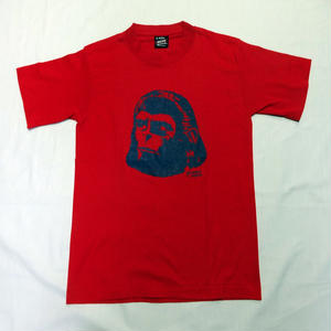 USED (古着)PLANET OF THE APES Tシャツ(レッド)
