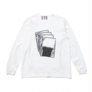 SON OF THE CHEESE | FACE commu sleeve(WHITE)
