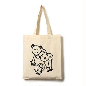 I&ME | OK DICE totebag(WHITE)