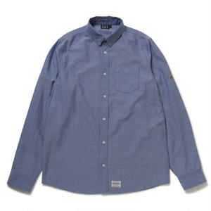 430 | L/S CONCEAL BD OX SHIRTS(NAVY)