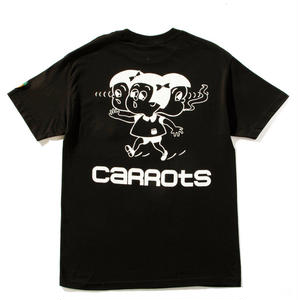 "Carrots by Anwar Carrots |  CARROTS ""CONJOINED"" TEE (BLACK)"