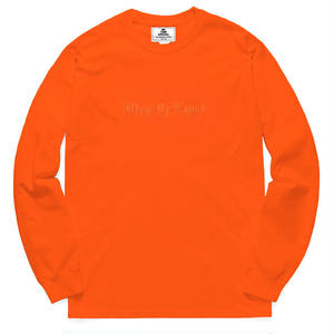 NOTHIN SPECIAL / ILLEGALLY LEGAL LONG SLEEVE (ORANGE)
