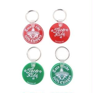 "TACORIDE | KEY ACCESSORIES ""SENOR SMALL CIRCLE"" (RED,GREEN)"
