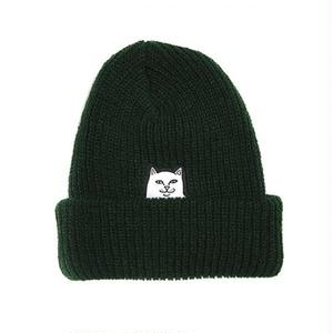 RIPNDIP | LORD NERMAL RIBBED BEANIE(FOREST)