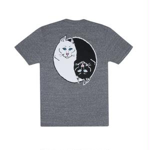 RIPNDIP | Nermal Ying Yang Tee (Heather Gray)