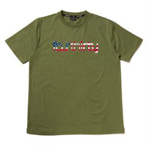 430 | US FLAG LOGO ICON S/S TEE(OD)