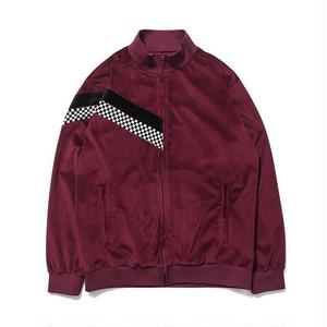 SON OF THE CHEESE | check Jersey JKT(WINE)