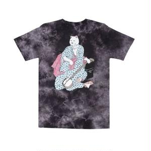 RIPNDIP | WARRIOR TEE (BLACK/WHITE TIE DYE)