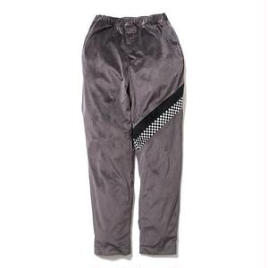SON OF THE CHEESE | check Jersey pants(GRAY)