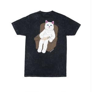 RIPNDIP | Nap Time Tee (Black Mineral Wash)