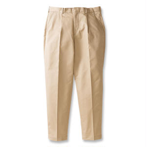 SON OF THE CHEESE | wide tack pants (BEIGE)