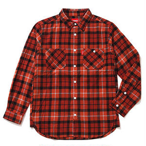 Oh!theGuilt:REAL WORK FLANNEL SHIRT(オレンジ)