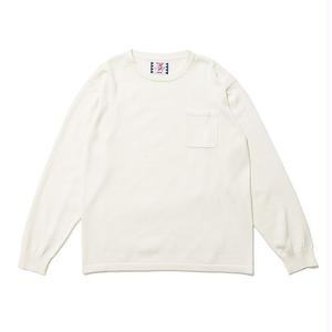 SON OF THE CHEESE | C100 long sleeve(OFF WHITE)