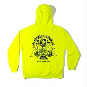 40s&Shorties / FAST LANE HOODIE(SAFETY GREEN)