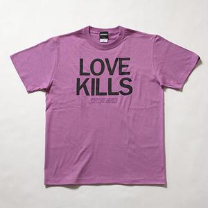 "Oh!theGuilt | ""LOVE KILLS"" S/S T-SHIRT(ラベンダー)"