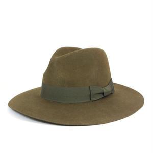 Brixton   Manhattan Fedora Hat Duvall(オリーブ)