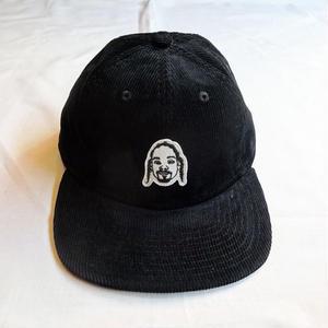 """Oh!theGuilt:""""DS""""CORDUROY 6P CAP(ブラック)"""