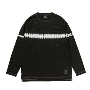 430 | LINE DYE L/S TEE (BLACK)
