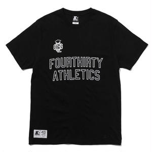 430 | SF ATHLETICS LOGO S/S TEE(BLACK)