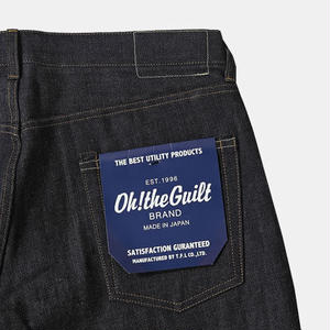 "Oh!theGuilt:5P DENIM PANT""STRAIGHT TO HELL""(インディゴ リジッド)"