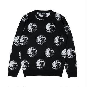 RIPNDIP | Nermal Yang Knit Sweater (Black)