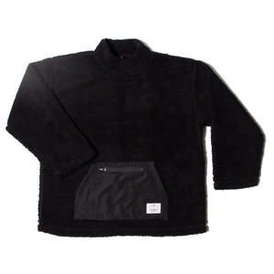 POLER | 90'S BOA MOCK NECK (BLACK)