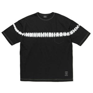 430   LINE DYE S/S TEE(BLACK)
