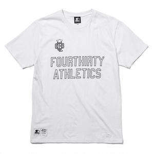 430 | SF ATHLETICS LOGO S/S TEE(WHITE)