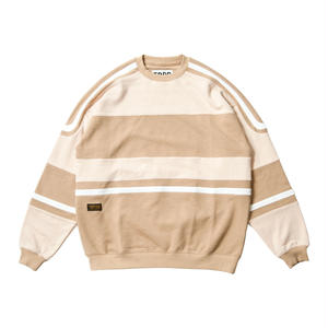 Tightbooth / STARTER CREW SWEAT (Beige)