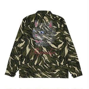 RIPNDIP | Tiger Nerm Ripstop Work Jacket (Green Camo)