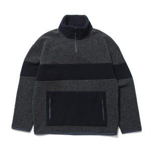 SON OF THE CHEESE | Fleece zip (GRAY)