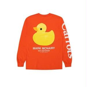 Carrots by Anwar Carrots |  Carrots × Mark Mcnairy DUCK L/S TEE (ORANGE)